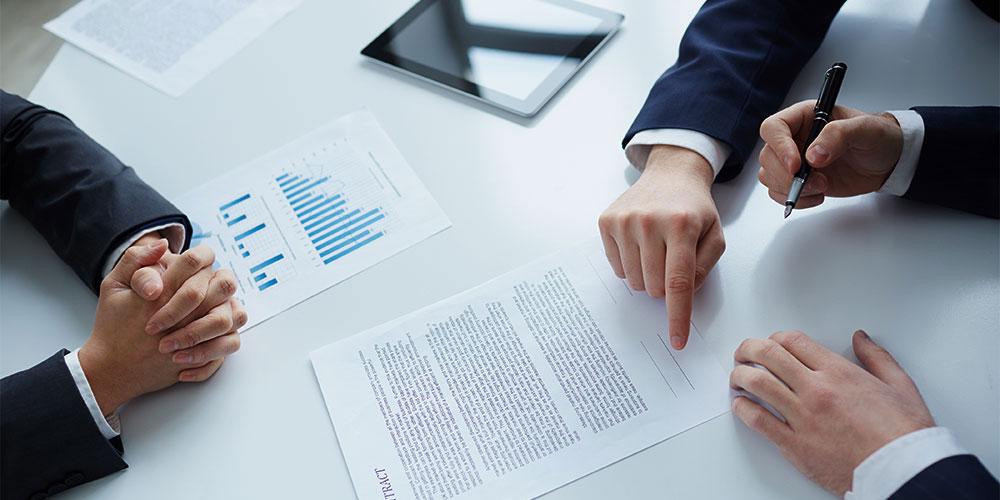 Contratos de distribución y agenda en Vizcaya