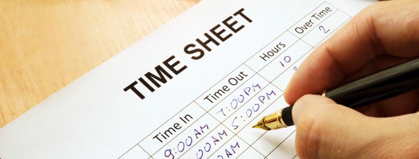 Registro de horarios